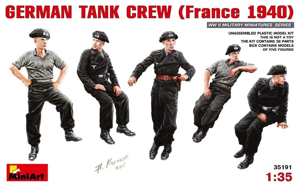 hobby-maquetas.net - MINIART 35191 German Tank Crew (France, 1940)