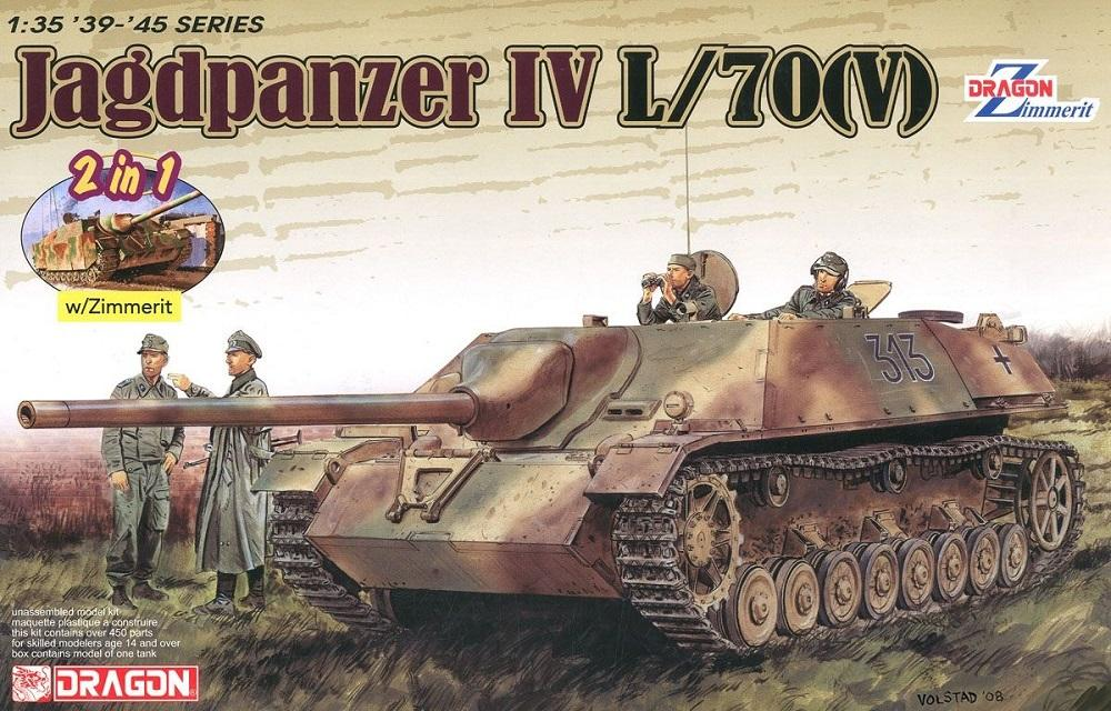 hobby-maquetas.net - DRAGON 6498 German Jagdpanzer IV L/70(V) with Zimmerit (WWII)