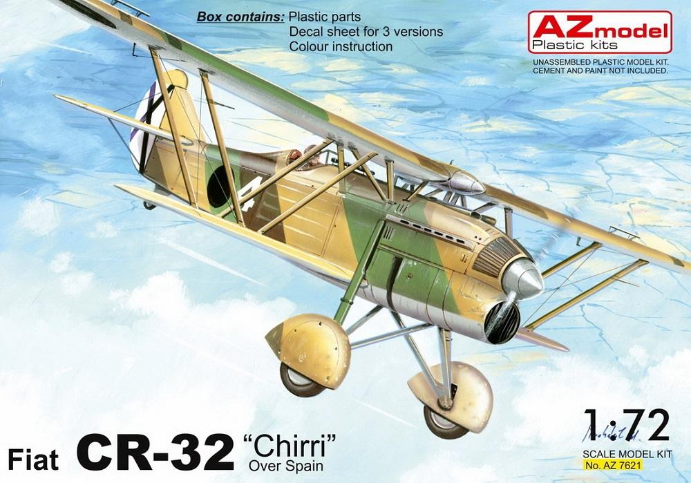 hobby-maquetas.net - AZ MODEL 7621 Fiat CR-32 'Chirri' (over Spain)