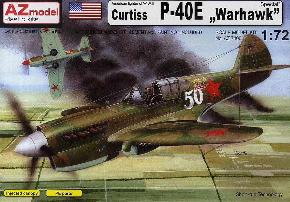 hobby-maquetas.net - AZ MODEL 7400 Curtiss P-40E 'Warhawk'