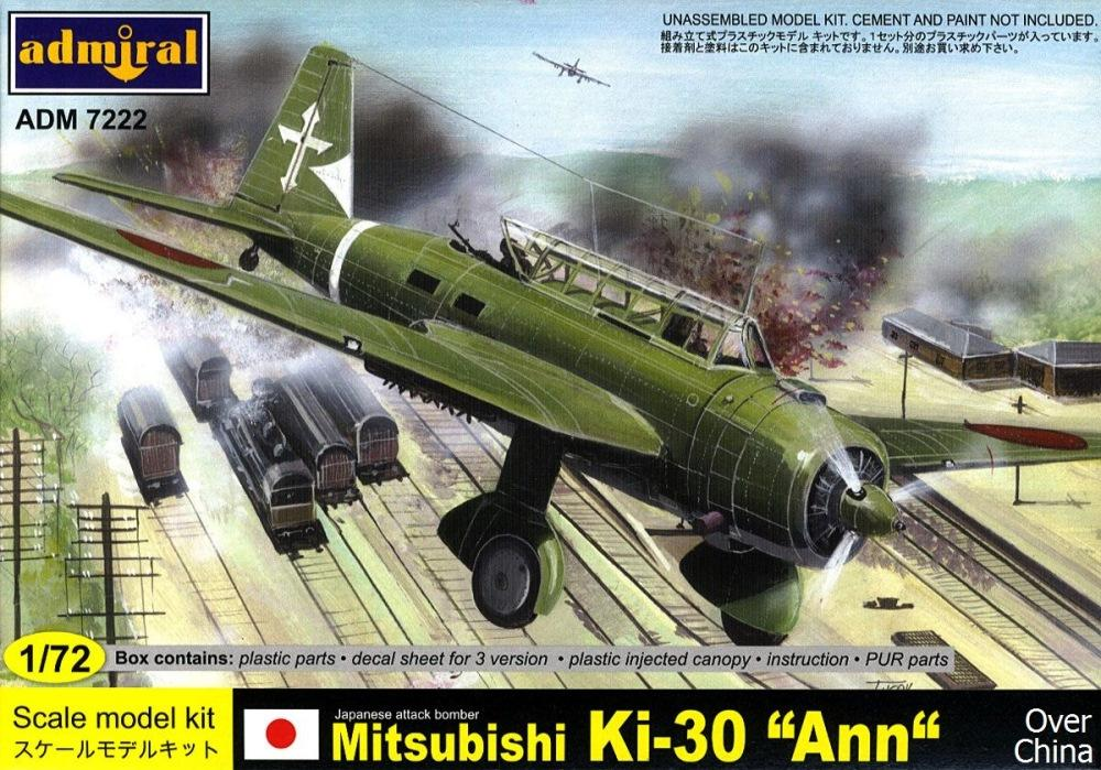 hobby-maquetas.net - ADMIRAL - AZ MODEL 7222 Mitsubishi Ki-30 'Ann' (over China)