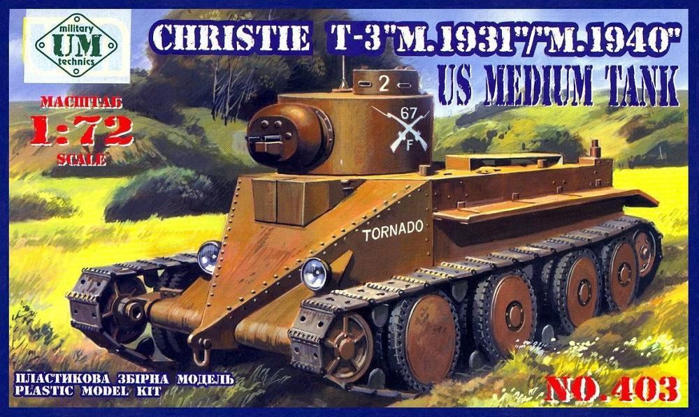 hobby-maquetas.net - UM-MT 403 U.S. Medium Tank T-3 'Christie'