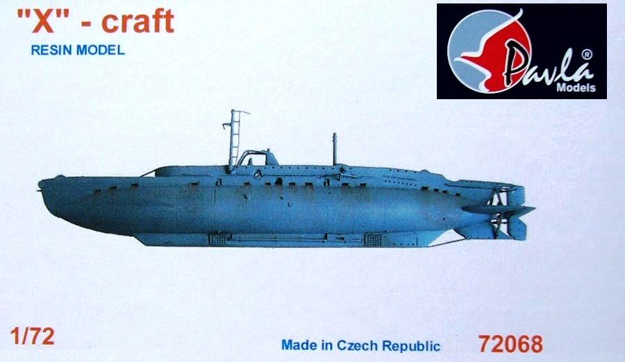 hobby-maquetas.net - PAVLA MODELS 72068 British Submarine 'X'-Craft (Resin)