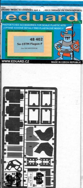 EDUARD 48402 Set for Su-15 TM Flagon-F (Trumpeter)