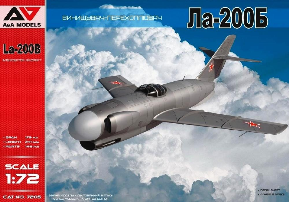 Francisco Javier Mairal Sallán - A&A MODELS 7205 Lavochkin La-200B All-Weather Experimental Interceptor
