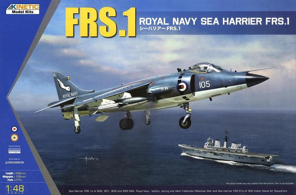 hobby-maquetas.net - KINETIC 48035 BAe Sea Harrier FRS.1