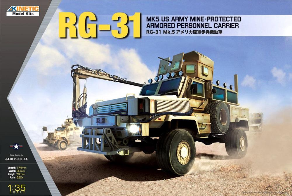hobby-maquetas.net - KINETIC 61015 Mine-Protected Armored Personnel Carrier RG-31 Mk.5
