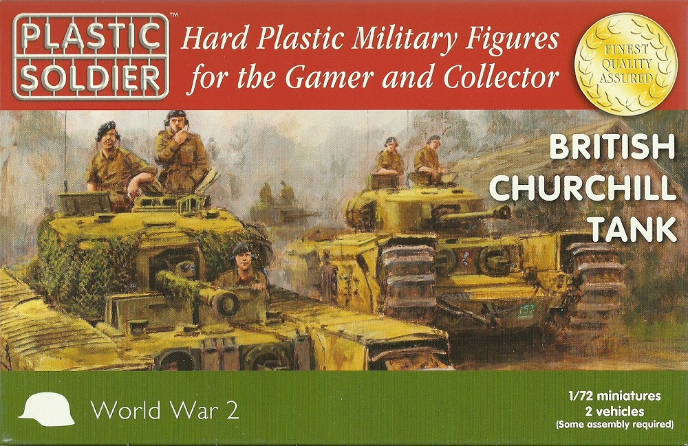 hobby-maquetas.net - PLASTIC SOLDIER WW2V20017 British Churchill Tank