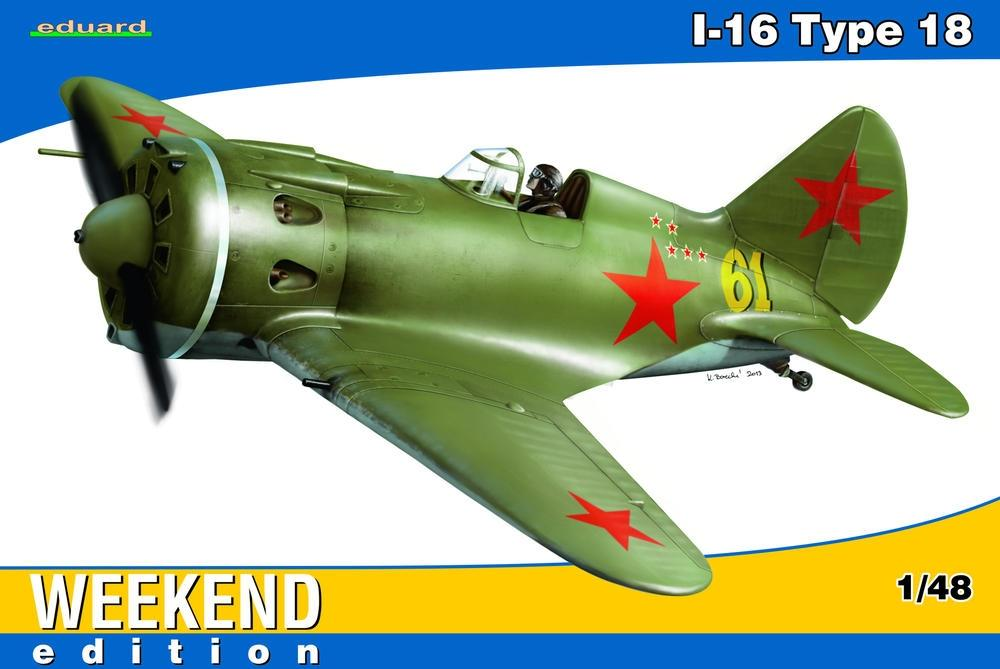 hobby-maquetas.net - EDUARD 8465 Polikarpov I-16 Type 18 (Weekend Edition)