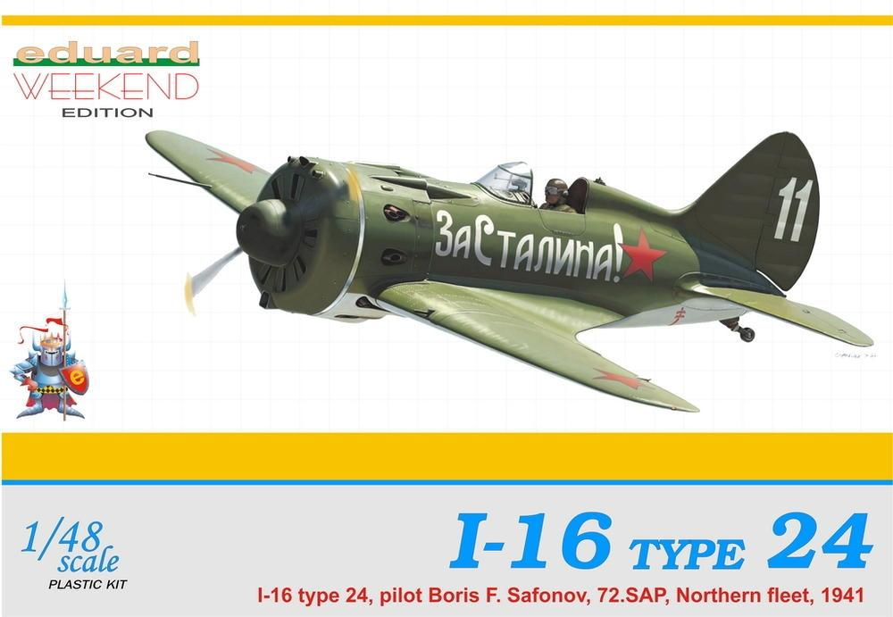 hobby-maquetas.net - EDUARD 8468 Polikarpov I-16 Type 24 (Weekend Edition)