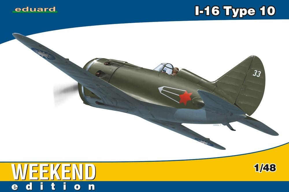 hobby-maquetas.net - EDUARD 8469 Polikarpov I-16 Type 10 (Weekend Edition)