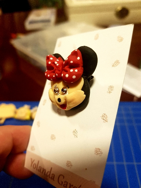 Ibana Rue - BROCHE MINNIE MOUSE