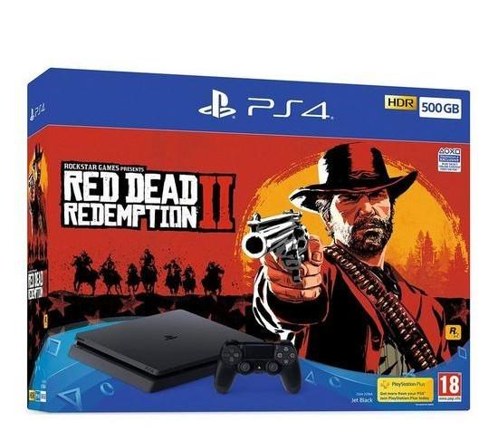 KareenaElectronics - SONY Playstation 4 Slim 1TB + Red Dead Redemption 2