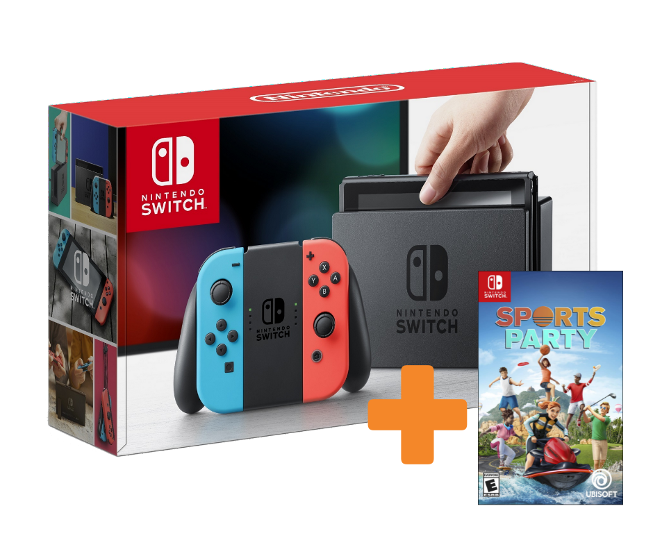 KareenaElectronics - NINTENDO SWITCH + SPORTS PARTY