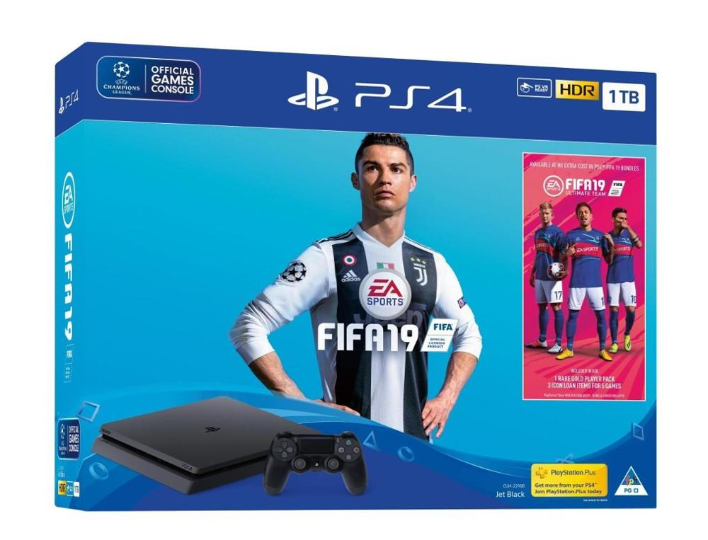 KareenaElectronics - SONY Playstation 4 Slim 1TB + FIFA 19