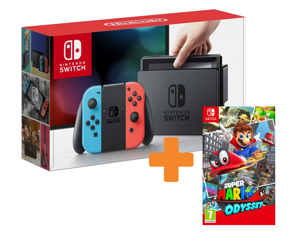 KareenaElectronics - NINTENDO SWITCH + SUPER MARIO ODYSSEY