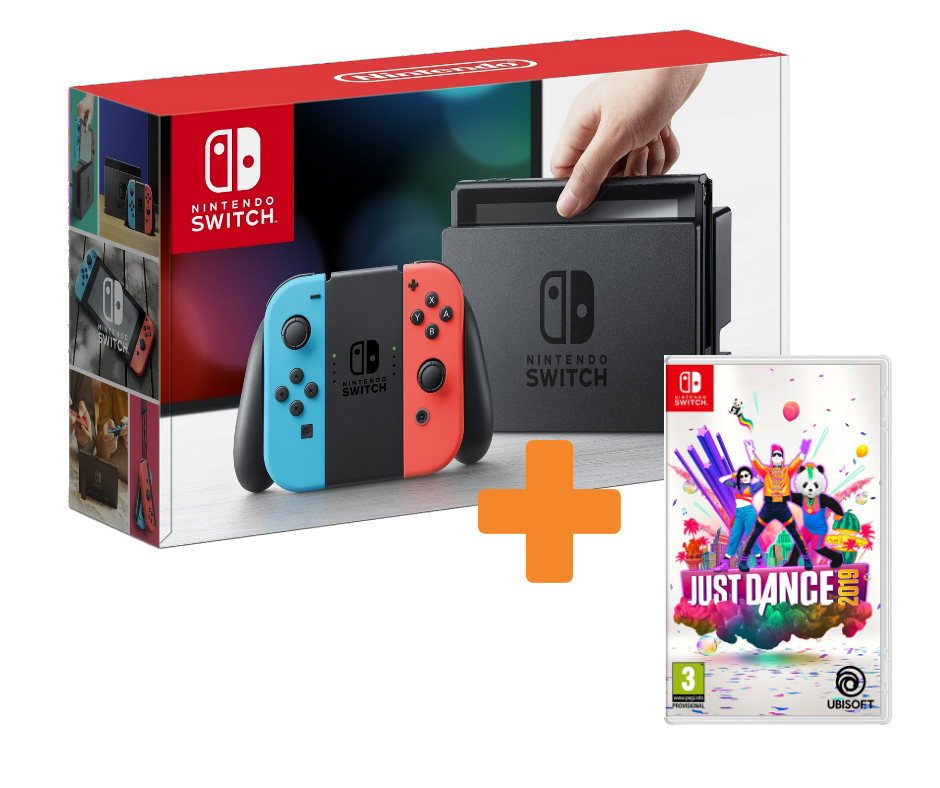 KareenaElectronics - NINTENDO SWITCH + JUST DANCE 2019