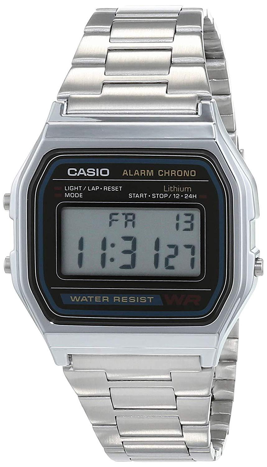 KareenaElectronics - CASIO RELOJ RETRO A158WA-1DF