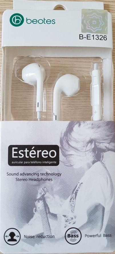 KareenaElectronics - Beotes Earpods Auriculares B-E1326 para Iphone/Ipad/Ipod