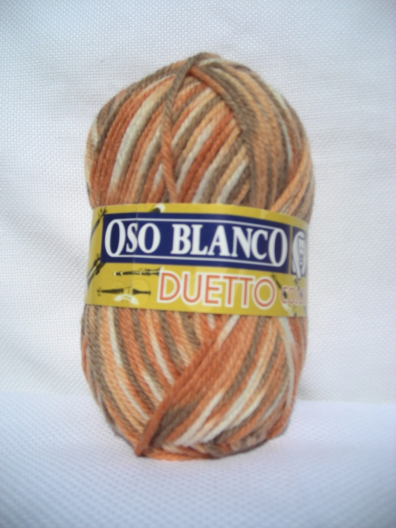 Kinti Knitter - Oso Blanco - Duetto Color