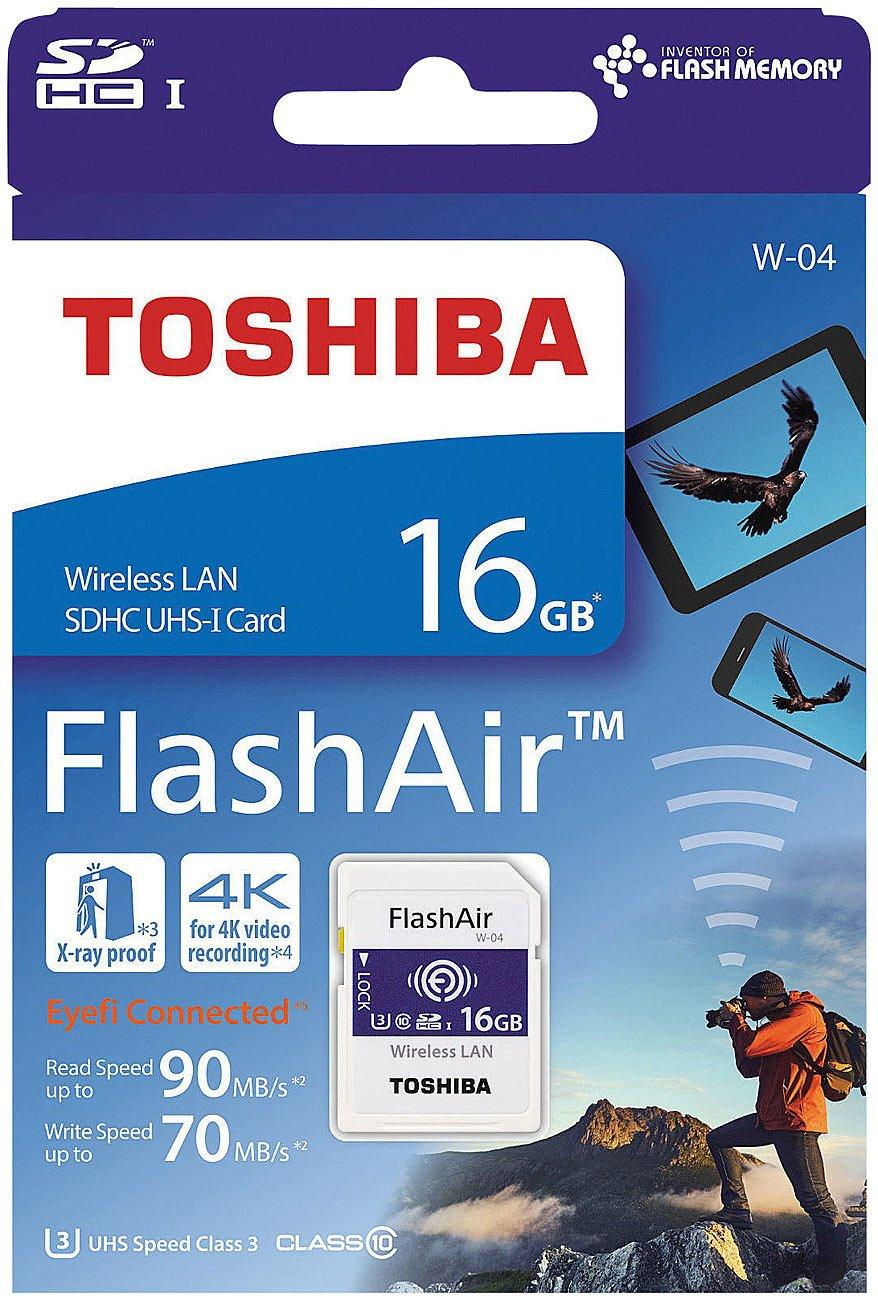 Lamosa Store - TOSHIBA FLASH AIR - TARJETA SD WIFI 16GB