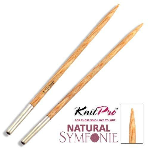 llanarium - Knit Pro Natural Symfonie Wood Agujas Intercambiables