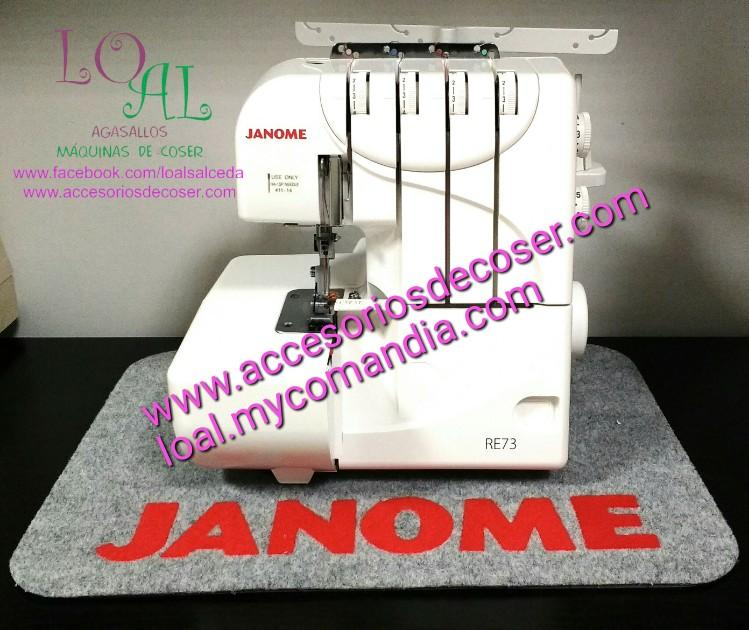 REMALLADORA JANOME RE73
