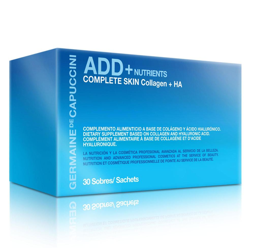 Germaine de Capuccini Add + Nutrients. COMPLETE SKIN Collagen + HA.