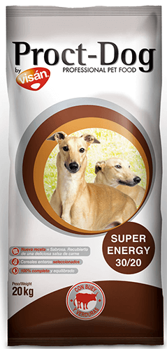 masquehocicos - Visán Proct-Dog Adult Super Energy 20kg