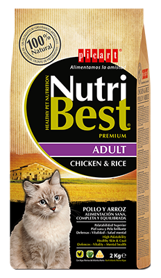 Picart Nutribest Gato Adulto Pollo y Arroz