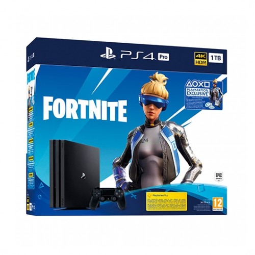 MOVILPLAZA INTERNET, S.L. - SONY PS4 PlayStation4 PRO 1TB + Fortnite