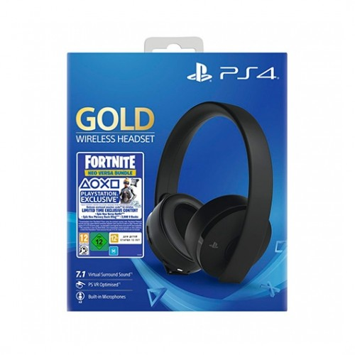 MOVILPLAZA INTERNET, S.L. - SONY PS4 Cascos Wireless Gold + Fortnite