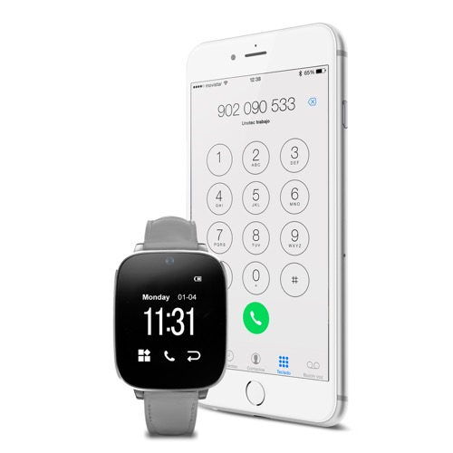 MOVILPLAZA INTERNET, S.L. - UNOTEC Watch-BT5 SmartWatch Bluetooth