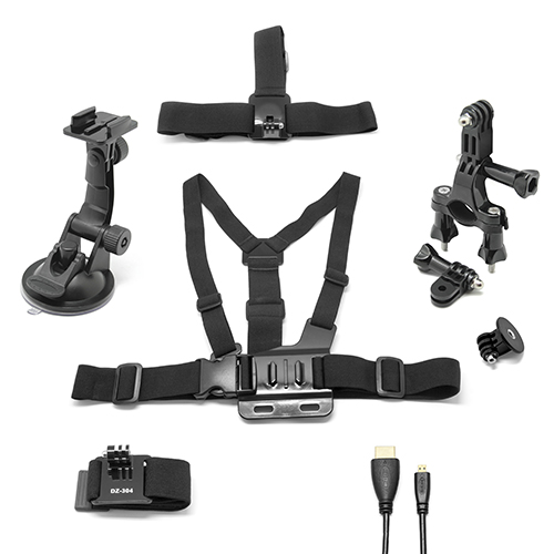 MOVILPLAZA INTERNET, S.L. - UNOTEC Kit 6 en 1 con Cable HDMI Para GoPro