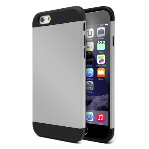 MOVILPLAZA INTERNET, S.L. - UNOTEC Funda Armor iPhone 6 Gris