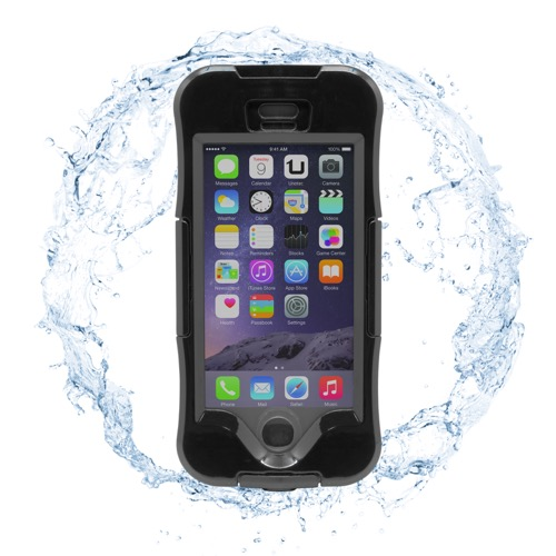 MOVILPLAZA INTERNET, S.L. - UNOTEC Funda Waterproof para iPhone 6/6S Negra