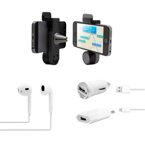 MOVILPLAZA INTERNET, S.L. - UNOTEC Pack Esencial para Smartphones Android Blanco