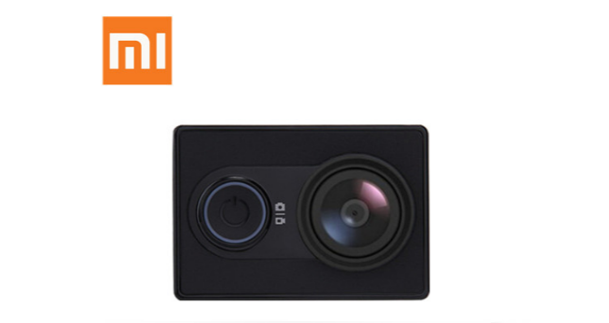 MOVILPLAZA INTERNET, S.L. - XIAOMI YI Action Videocámara Deportiva 16MP Full HD 1080p Negro