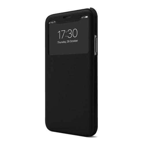 MOVILPLAZA INTERNET, S.L. - UNOTEC Funda Flip-S para iPhone X