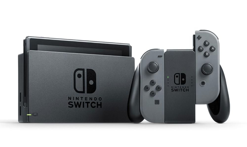 MOVILPLAZA INTERNET, S.L. - Nintendo Switch Videoconsola Gris