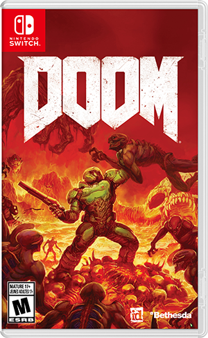 MOVILPLAZA INTERNET, S.L. - Nintendo Doom para Nintendo Switch
