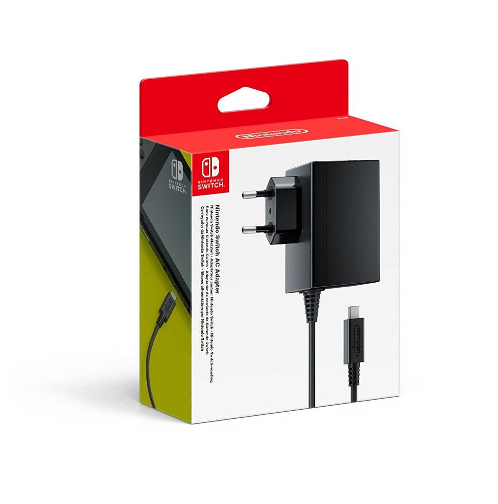 MOVILPLAZA INTERNET, S.L. - Nintendo Adaptador de Corriente para Nintendo Switch