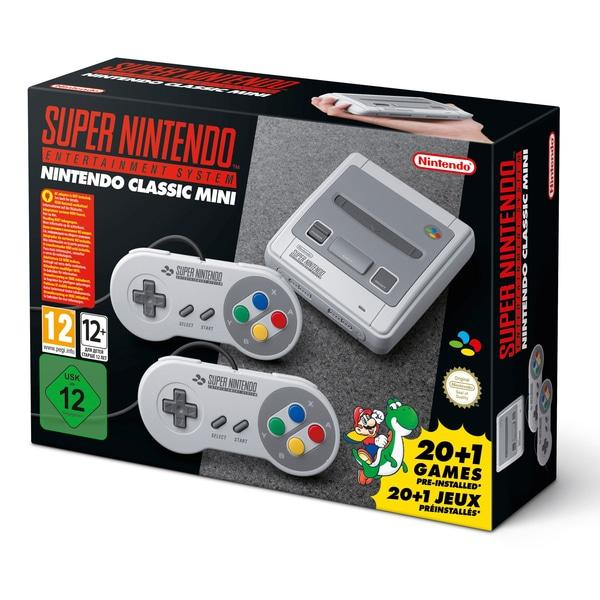 MOVILPLAZA INTERNET, S.L. - Nintendo Classic Mini Super NES Consola Retro