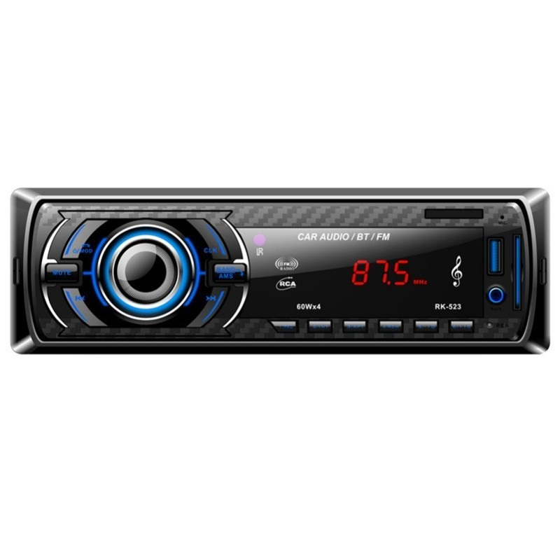 MOVILPLAZA INTERNET, S.L. - Autoradio Bluetooth RK-523 MP3/USB/SD/AUX-IN/FM