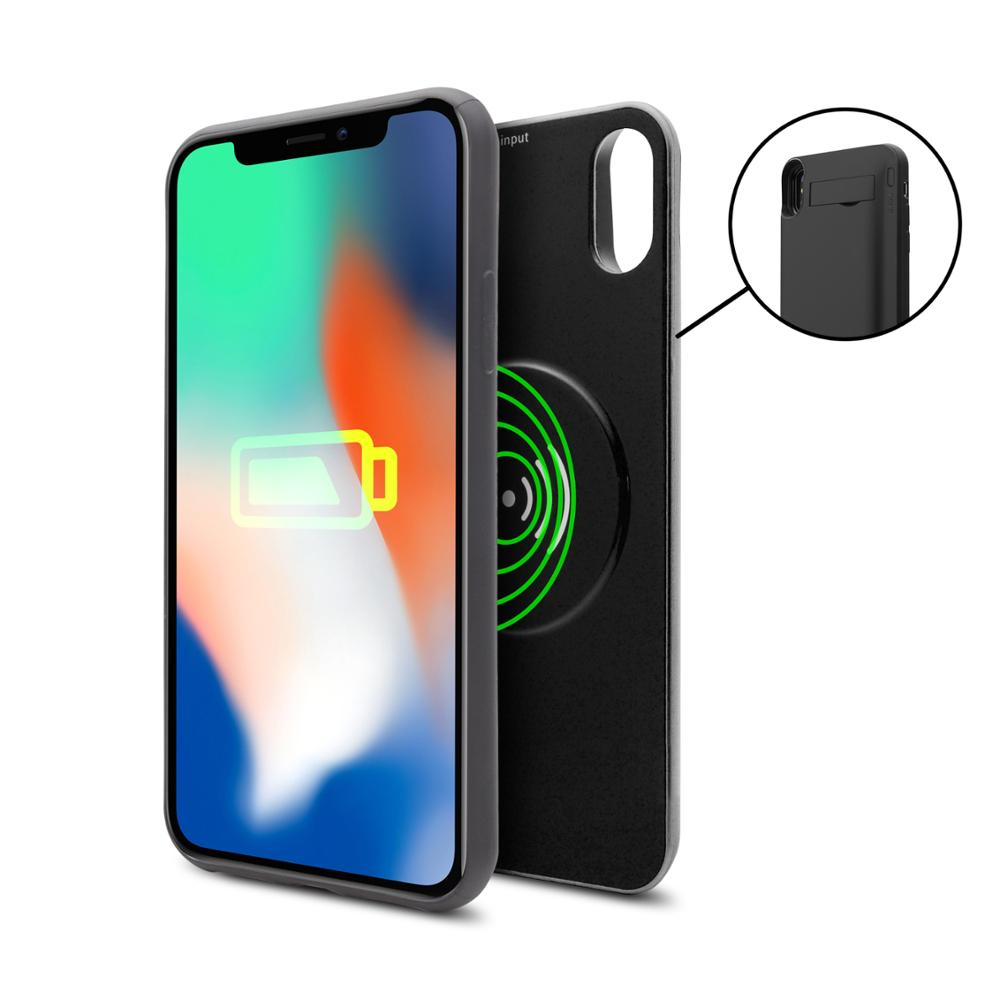 MOVILPLAZA INTERNET, S.L. - UNOTEC WirelessCase Funda Batería con inducción para iPhone X