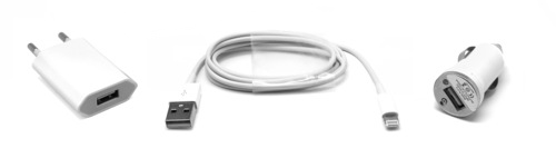 MOVILPLAZA INTERNET, S.L. - UNOTEC Set Cargador Lightning para Apple iPhone