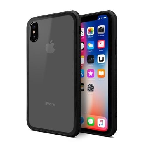 MOVILPLAZA INTERNET, S.L. - UNOTEC Funda New Glass Cover para iPhone X/XS