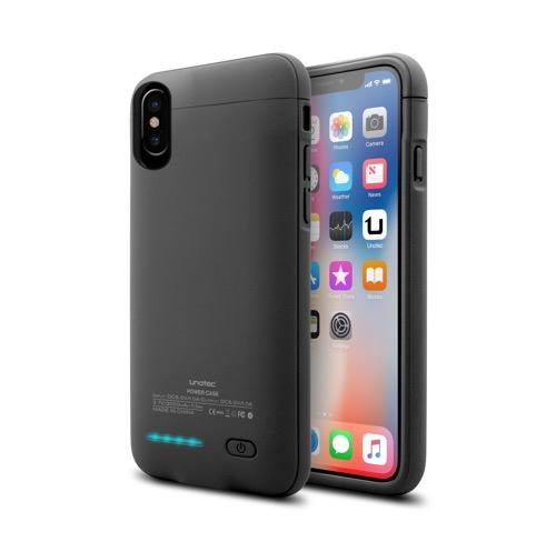 MOVILPLAZA INTERNET, S.L. - UNOTEC PowerCase Funda con Batería para iPhone X/XS