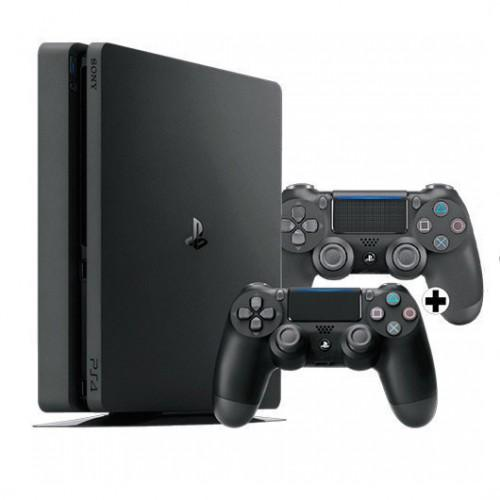 MOVILPLAZA INTERNET, S.L. - SONY PS4 PlayStation4 Slim 1TB + 2x Mando Dualshock