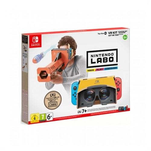 MOVILPLAZA INTERNET, S.L. - Nintendo LABO Kit VR Set Básico con Desintegrador